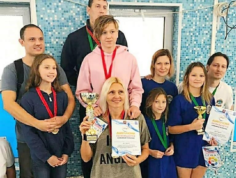 Семья из Академического района победила в городских соревнованиях