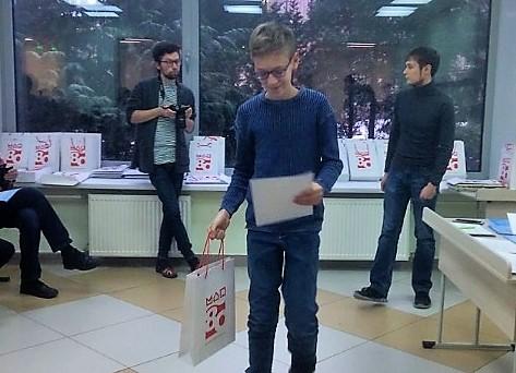 Ребята из школы № 1534 стали лауреатами турнира по биологии