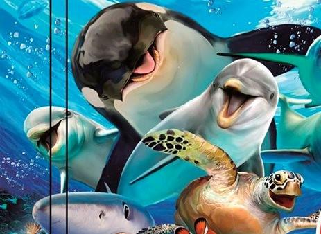 В библиотеке им. Агнии Барто сегодня отмечают День китов и дельфинов