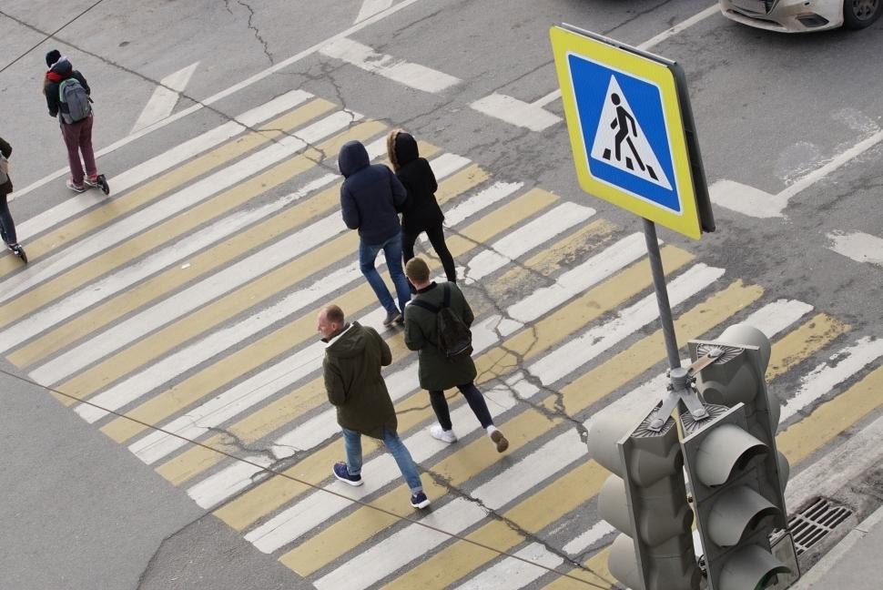 В ЮЗАО обустроили четыре дополнительных пешеходных перехода