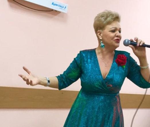 В филиале «Академический» прошел концерт Татьяны Мазаевой