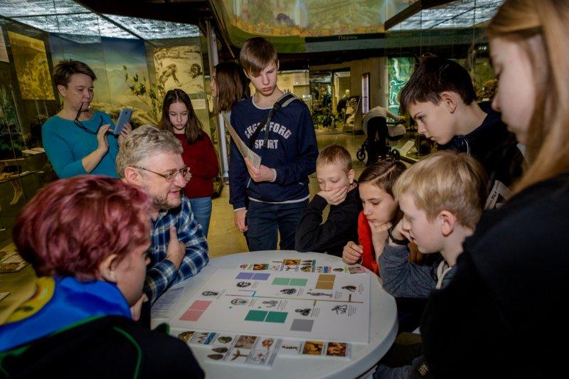 В Дарвиновском музее отметили День эволюции квестами и мастер-классами