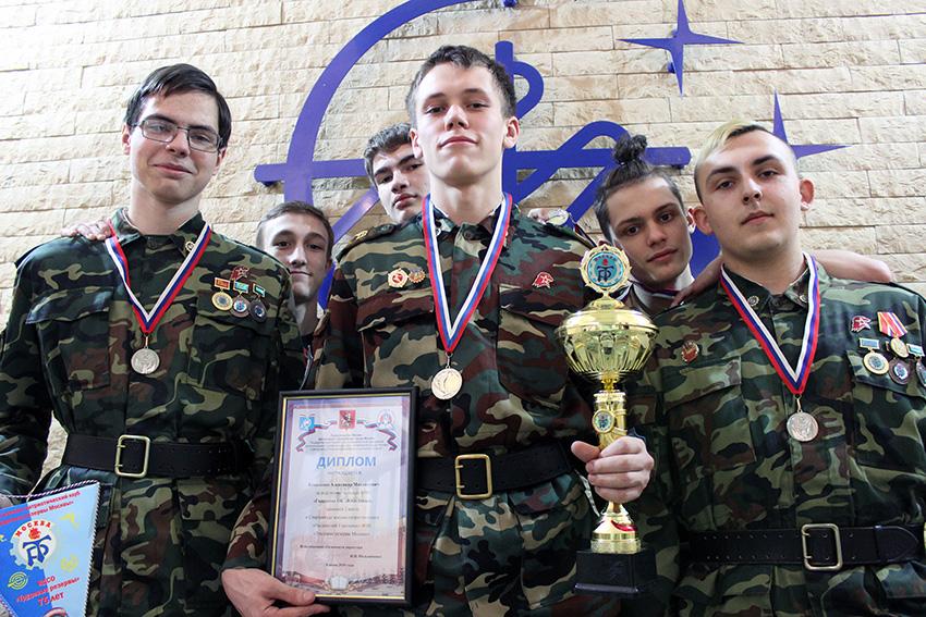 Команда «Юго-Запада» стала второй на соревнованиях по военно-прикладной подготовке