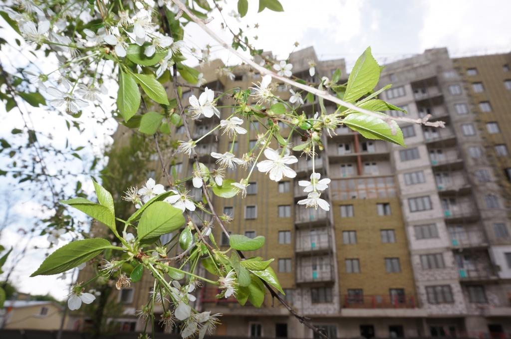На улице Шверника завершается строительство дома по программе реновации